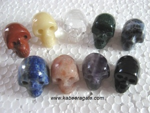 Mix Stone Skulls Wholesale