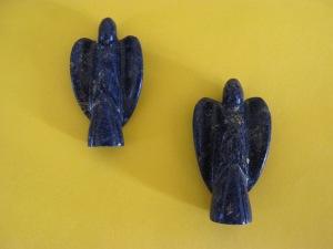 Lapis LAzili Angel Pendants