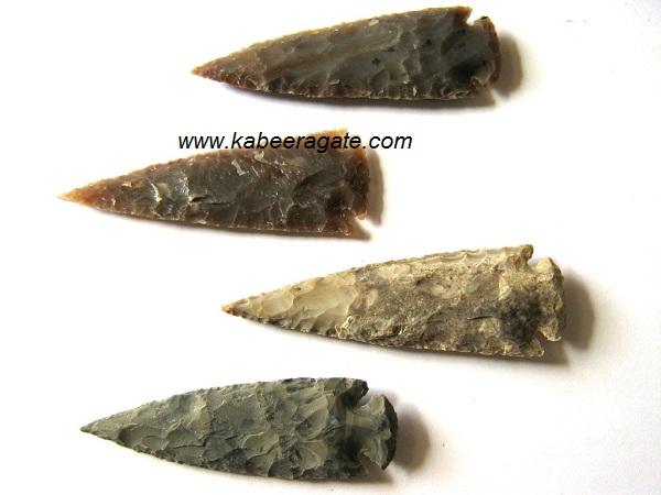 Bulk Agate Arrowheads