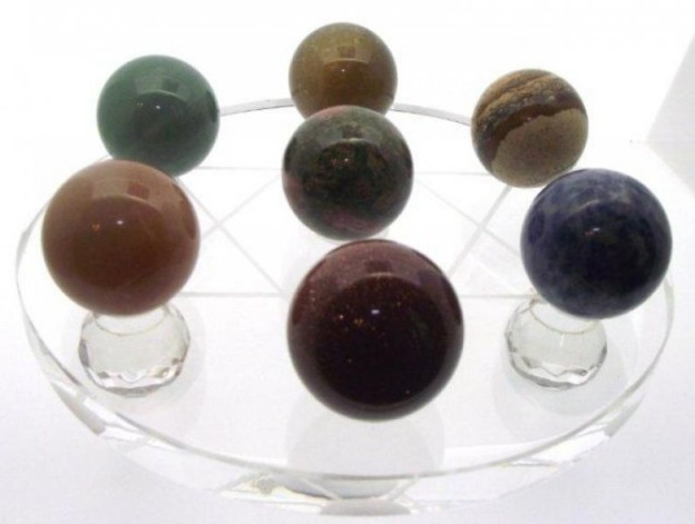 Crystal and Gemstone Balls