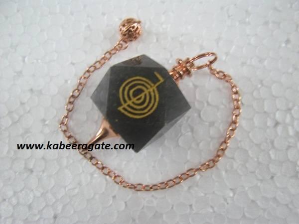 Blue Aventurine Cho Ko Reiki Pendulum (Bronze)