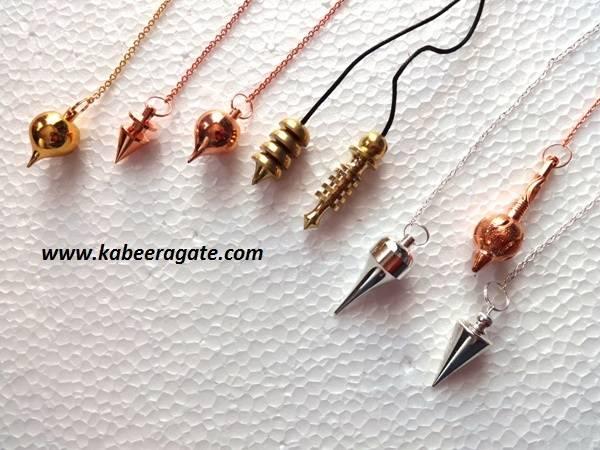 Assorted Metal Pendulums