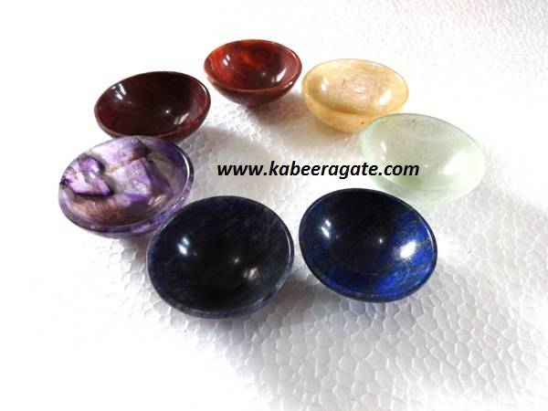 Chakra Bowl Set (2inch)