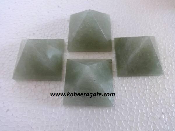 Green QuartzPyramids