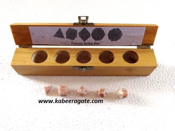 Sunstone 5pcs Geometry Set with Wooden Box