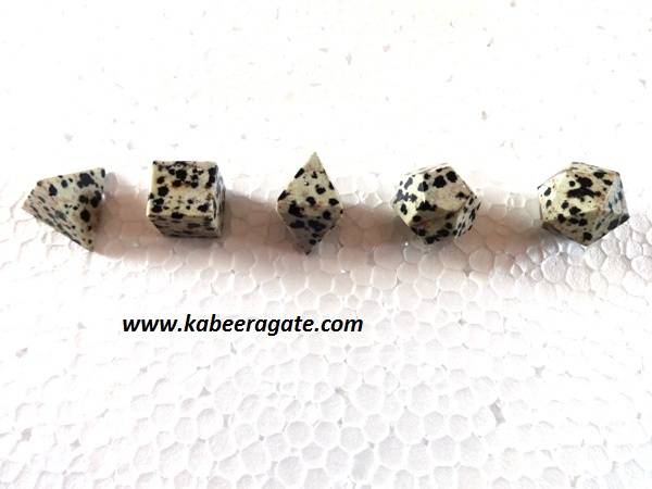 Dalmatian Jasper 5pcs Geometry Set