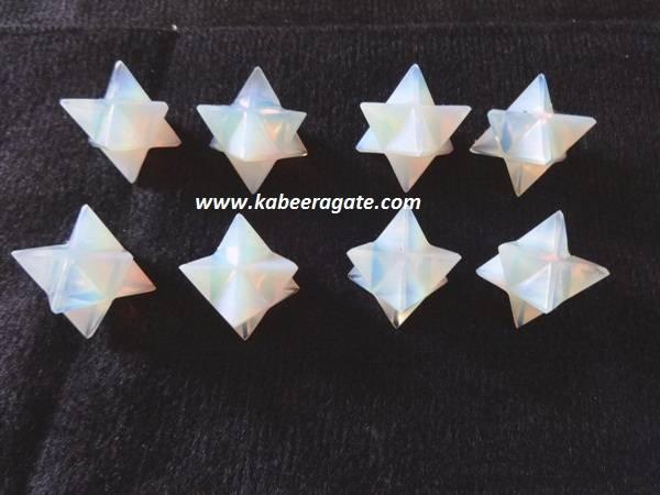 Opalite Merkaba Star