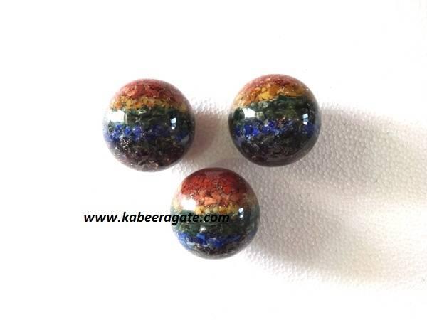 Chakra Orgone Balls