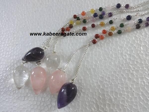 RAC Drop Pendulums With Chakra Chain