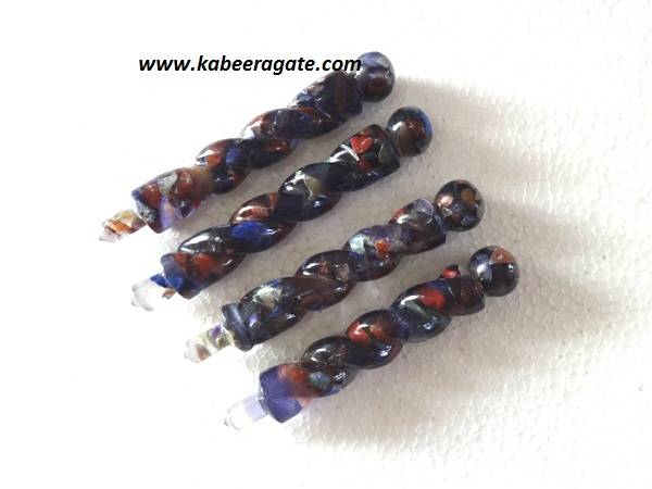 Orgone Twisted Healing Wands