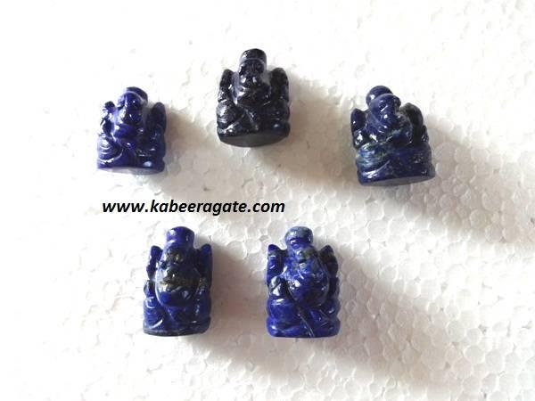 Lapiz Lazuli Ganesha