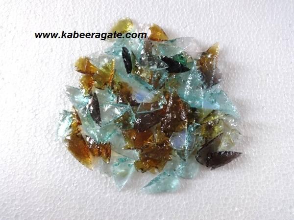 Assorted Color Glass Arrowheads