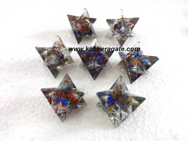 Big Orgone Merkaba Star