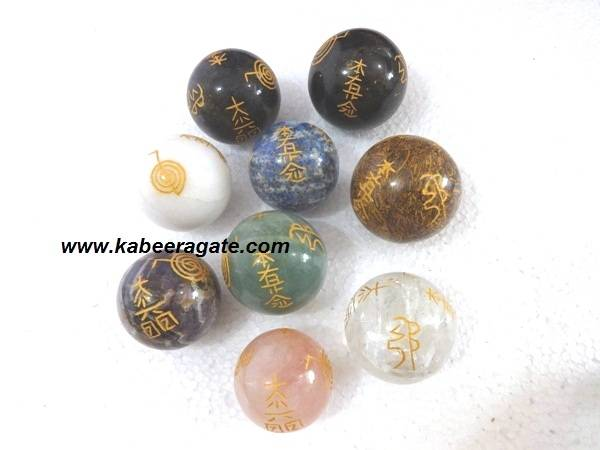 Assorted Reiki Usai Spheres