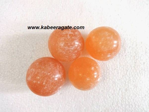Orange Salenite Balls