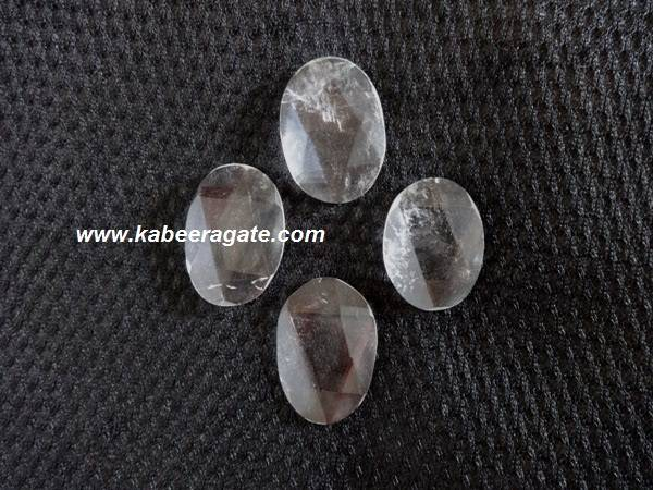 Crystal Quartz Star Tetrahedron Oval Shape