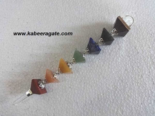 New Chakra Pyramid Healing Wands