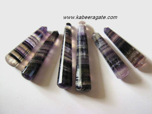 Purple Fluorite Massage Wands
