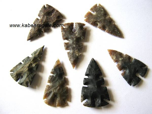 Curved Arrowheads