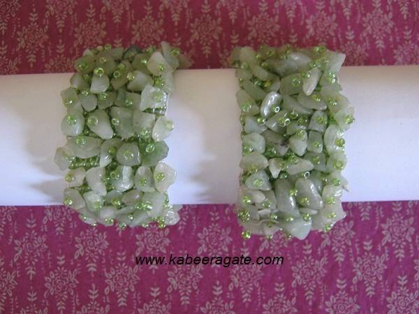 Green Aventurine Bands