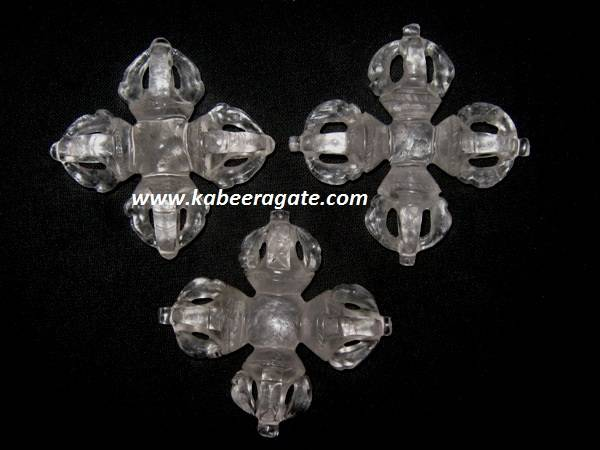 Crystal Quartz Vishwa Vajra (Big)