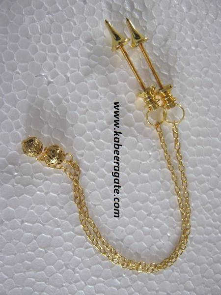Golden Mounting for Pendulum with Chain