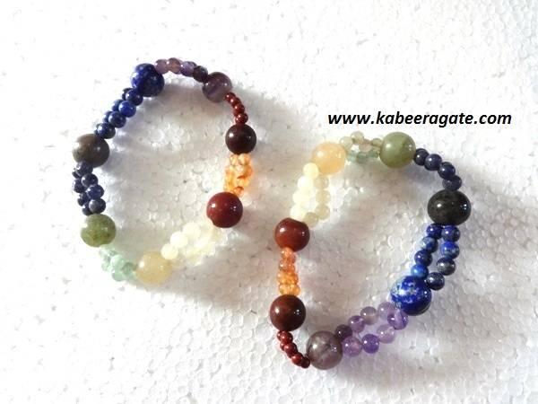 Chakra Double Beads Bracelets