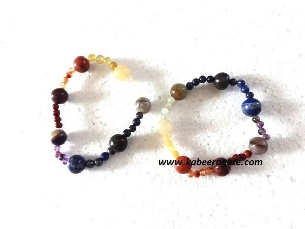 Chakra Singel Beads Bracelets