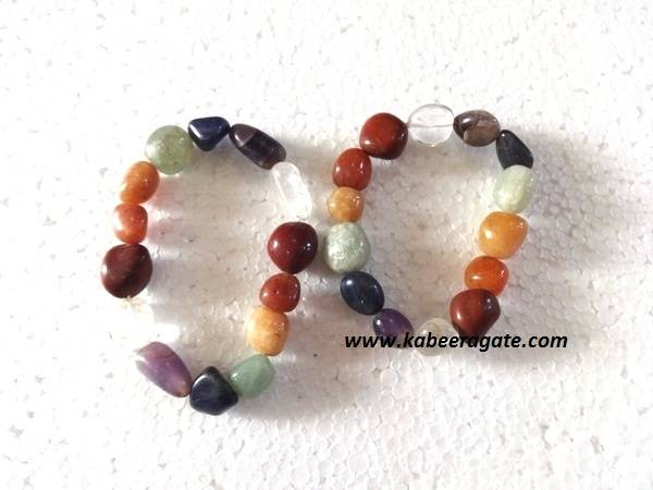 Chakra Tumble Bracelets