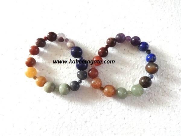 Chakra Combination Bracelets (Bigger Beads)