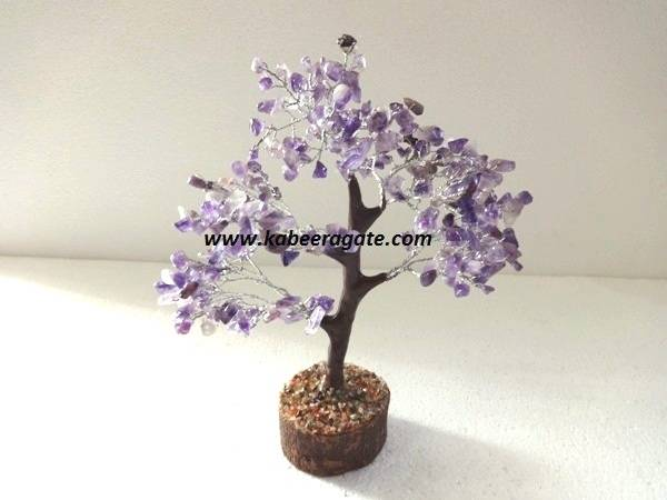 Amethyst Tree With Thick Root