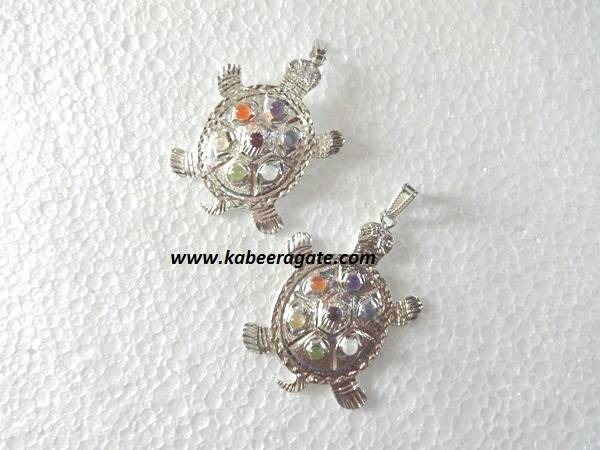 Tortoise Chakra Pendents