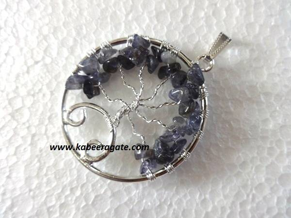 Round Tree Of Life Pendants