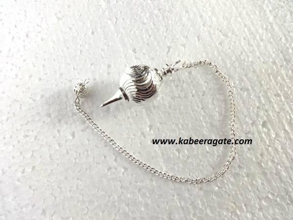 Shiny Silver Ball Pendulum
