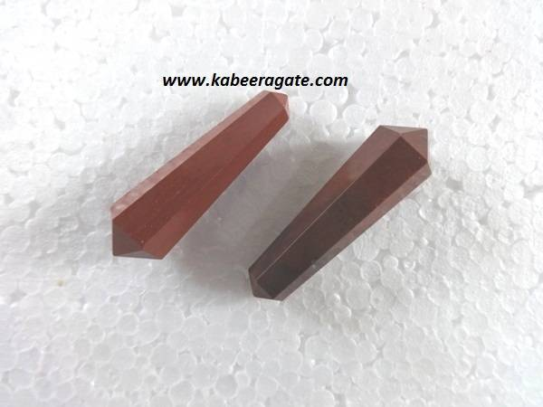 Red Jasper Double Terminated Pencil Point