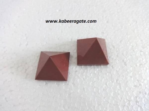 Red Jasper Pyramids (Small)