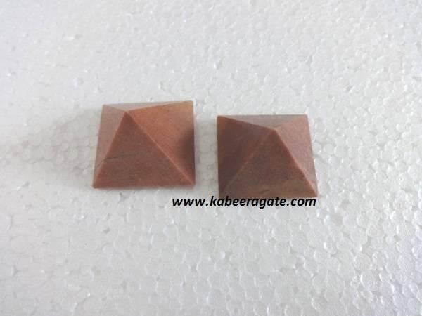 Peach Aventurine Pyramids (Small)