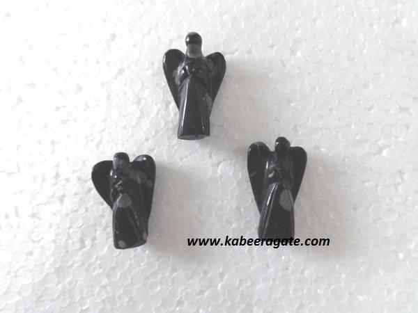 Snowflake Obsidian Angels